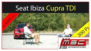 Seat Ibiza Cupra TDI 300 Ps Interview | Motorsportcheck.de