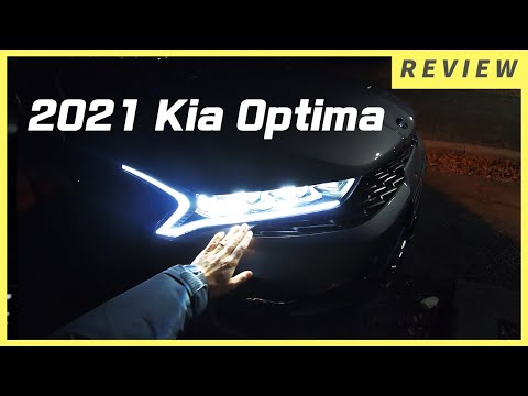 The NEW 2021 Kia Optima With 2.0L Base Engine(MPi).  Night Drive POV With Kia Optima.