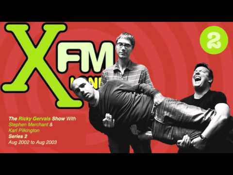 XFM The Ricky Gervais Show Series 2 Episode 16 - Forced its way out of the vagina