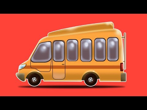 School Bus | Formation & Uses | Learn Transport Vehicles by Kids Channel