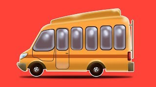 School Bus   Formation & Uses   Learn Transport Vehicles by Kids Channel