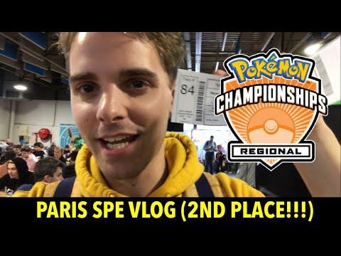 2ND PLACE PARIS SPE VLOG + TOURNAMENT REPORT (Pokemon TCG)
