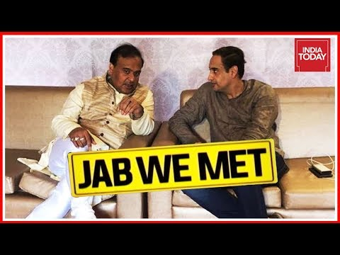 Following Himanta Biswa Sarma`s Campaign Trail In North-East | Jab We Met With Rahul Kanwal