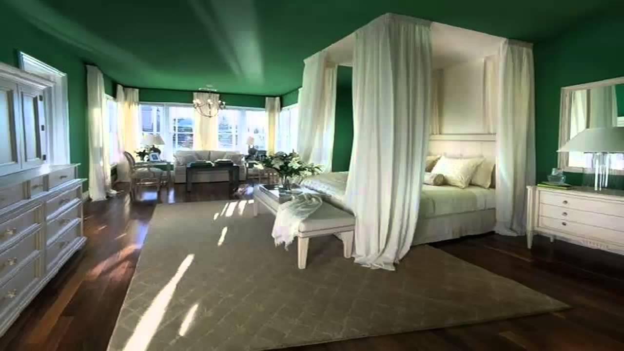 غرف نوم باللون الاخضر       YouTube