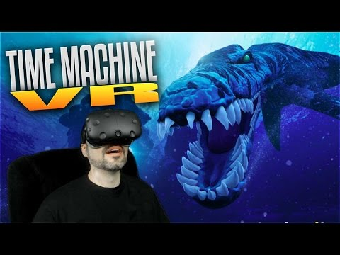 Time Machine VR Gameplay - Ep 1 - Underwater Dinosaurs in VR! (HTC Vive Gameplay)