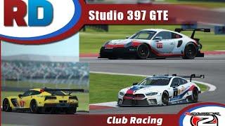 rFactor 2 RaceDepartment Event | Studio 397 GTEs @ Virginia International Raceway