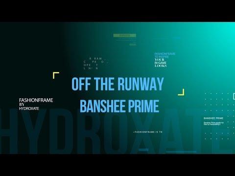 Warframe: Off The Runway - Banshee Prime Fashionframe