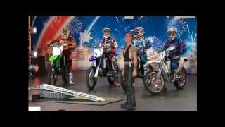 The Space Cowboy Breaks Motorbike World Record - Australia's Got Talent 2012