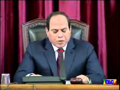Egyptian President historical full speech to Ethiopian Parliment march 2015
