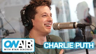 charlie puth talks new single how long on air with ryan seacrest