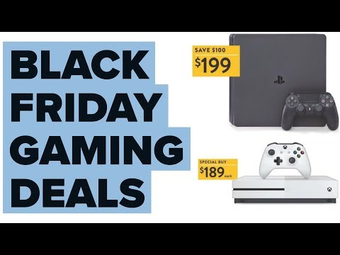 Black Friday 2017 Games and Gaming Hardware Deals!