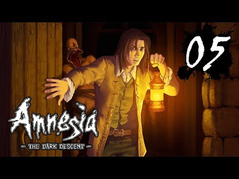Amnesia: The Dark Descent • #5 - Было страшно, но лифт я починил!