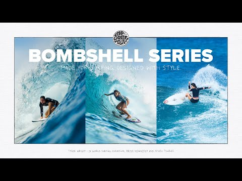 Rip Curl Bombshell Series   Feat. Tyler Wright, Brisa Hennessy, Amuro Tsuzuki   Women's Springsuits