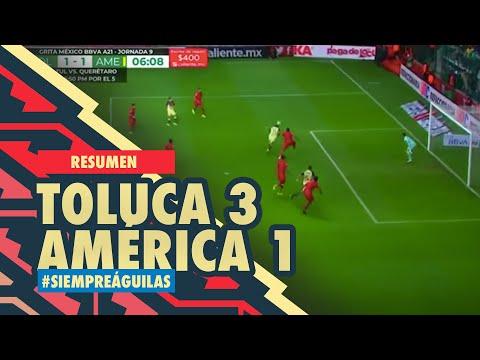 Toluca Club America Goals And Highlights