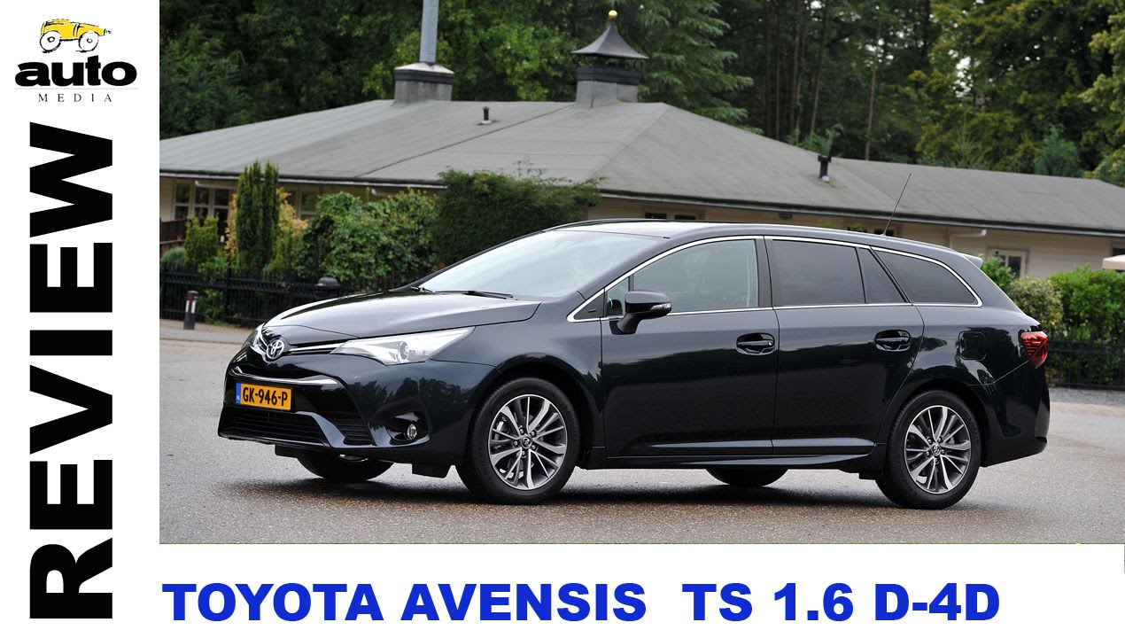 toyota avensis touring sports 1 6 d 4d review 2015 youtube. Black Bedroom Furniture Sets. Home Design Ideas