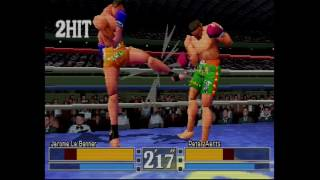 K-1 Fighting Illusion Shou - Sega Saturn - Gameplay