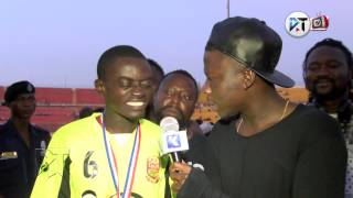 Stonebwoy interview Liwin after Stars game