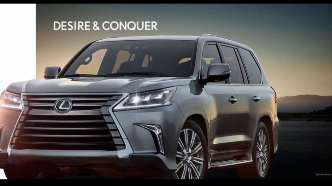 The New 2018 Lexus Lx 570 V8 Luxury Suv Desire Conquer