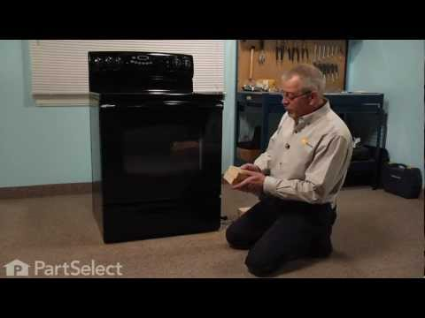 Range/Stove/Oven Repair - Replacing the Levelling Leg (Whirlpool Part # 74002557)