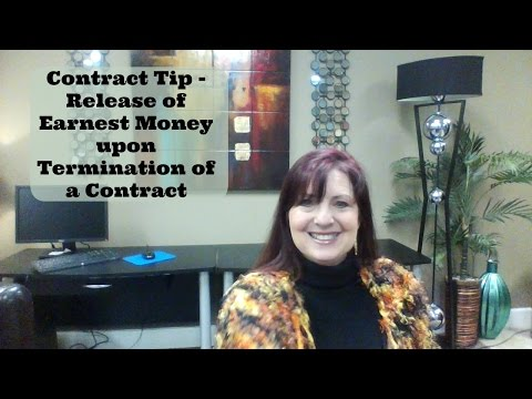 contract-tip---release-of-earnest-money-upon-termination-of-a-contract