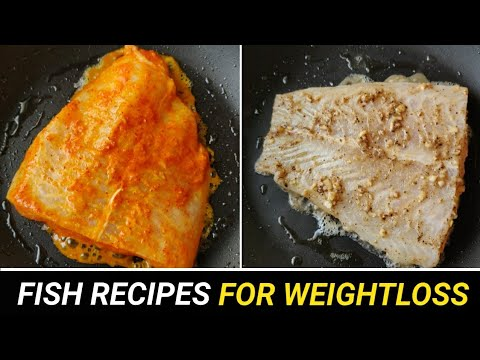 2 EASY FISH RECIPES FOR WEIGHTLOSS !! ( Less Then 300cal ) 🇮🇳