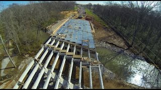 Old Madison Pike Road Construction Overflight: 15 March 15