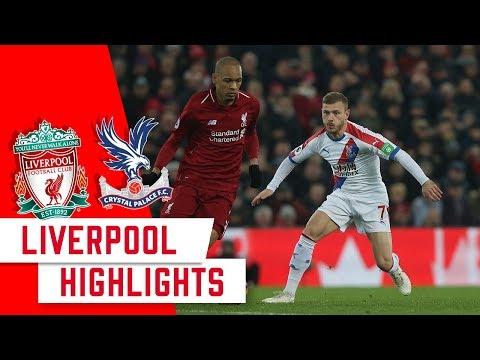 Highlights | Liverpool 4-3 Crystal Palace | 18/19 Season