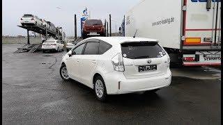 Отправили В Москву Toyota Prius Alpha.