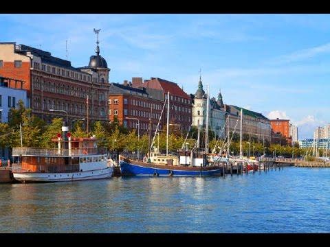 Tour de ville  Helsinki , Finlande (Ultra 4K)