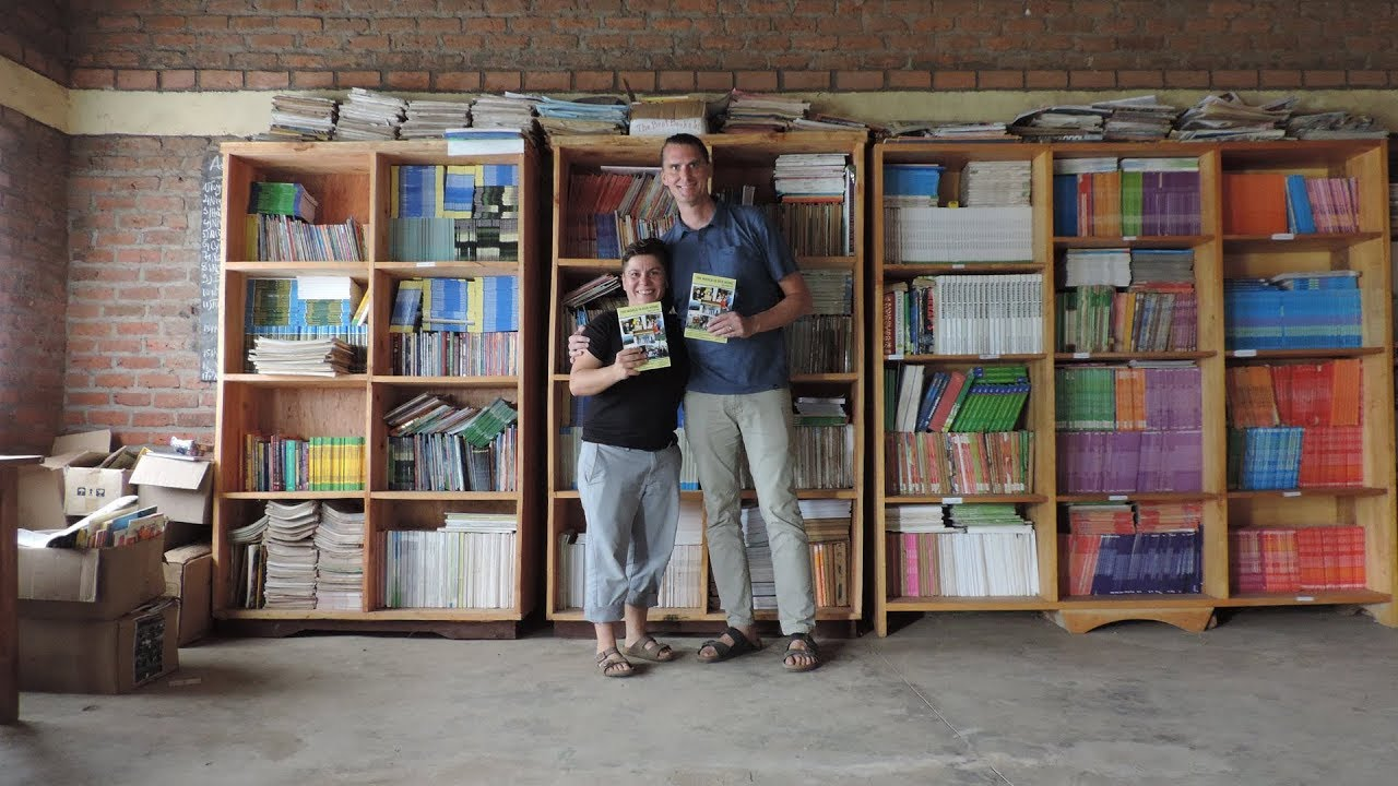 Iu In Rwanda One Library At A Time Youtube