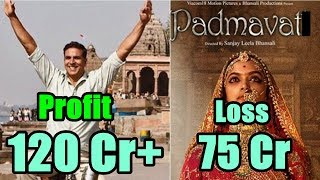 Padmavat Vs Padman l Profit And Loss As On January 12, 2018