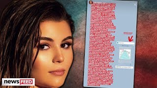 Olivia Jade Posts About Using Her 'White Privilege' To Solve BLM Issues!