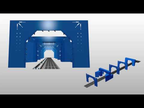 엔트라(주) 세차기 시공 3D시뮬레이션 입니다_영문