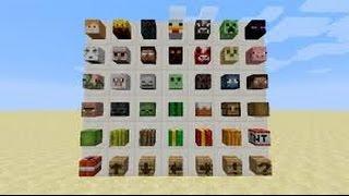 Minecraftta nasıl skin kafası alınır ? (bütün skinlerde geçerli ve modsuz)