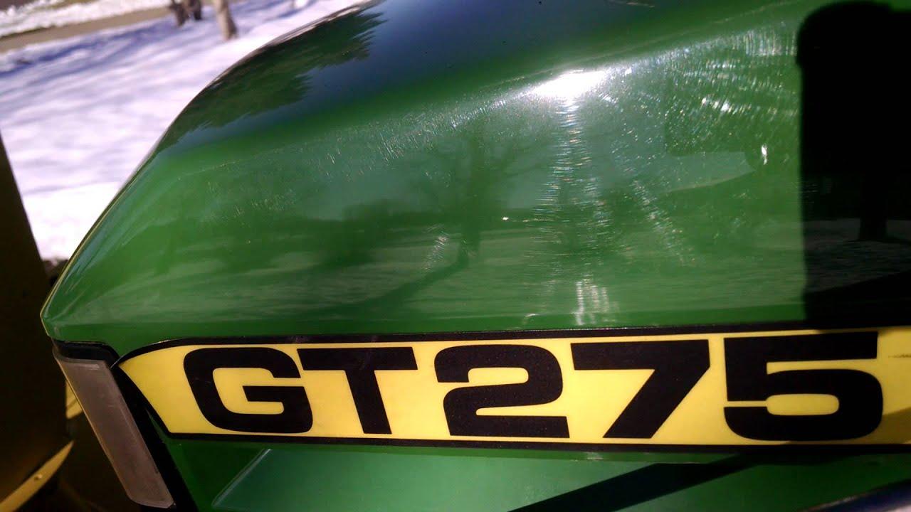 maxresdefault john deere gt275 lawn tractor youtube
