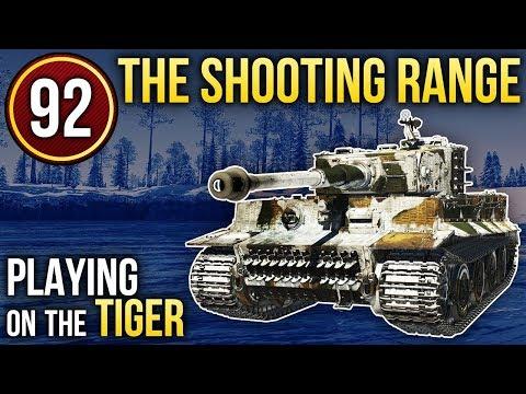 PIPISTRELLO; Playing on the Tiger / War Thunder. The Shooting Range 92