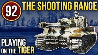 PIPISTRELLO; Playing on the Tiger / War Thunder. The Shooting Range 92