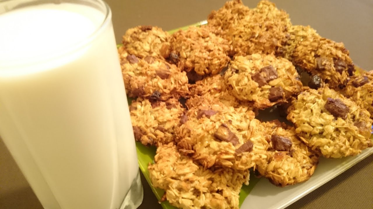 Овсяное печенье быстрый рецепт