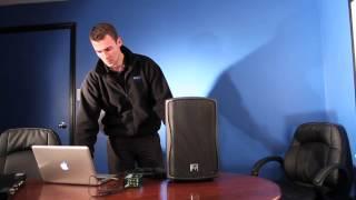 Electro-Voice Zxa1 Product Demo