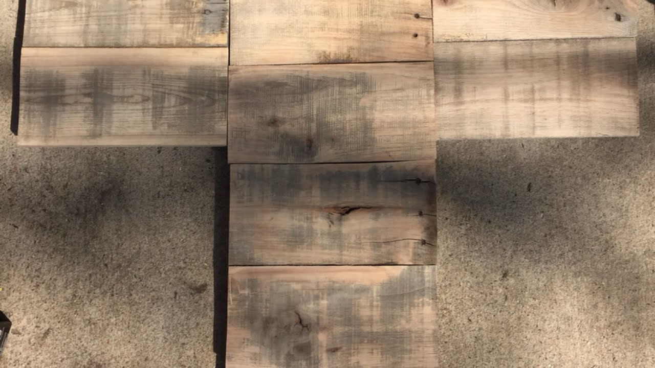 Make a large wooden cross for multiple pictures diy make a large wooden cross for multiple pictures diy guidecentral youtube jeuxipadfo Images