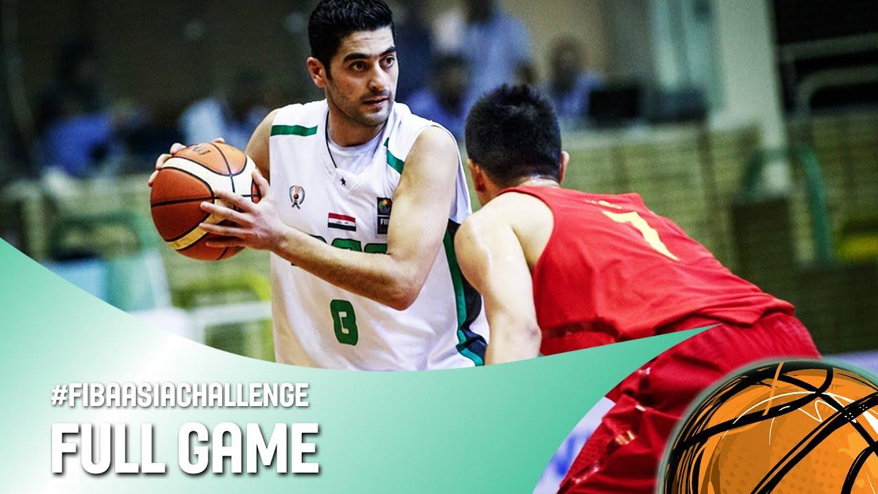 Iraq v China - Full Game - Quarter Final - FIBA Asia Challenge 2016
