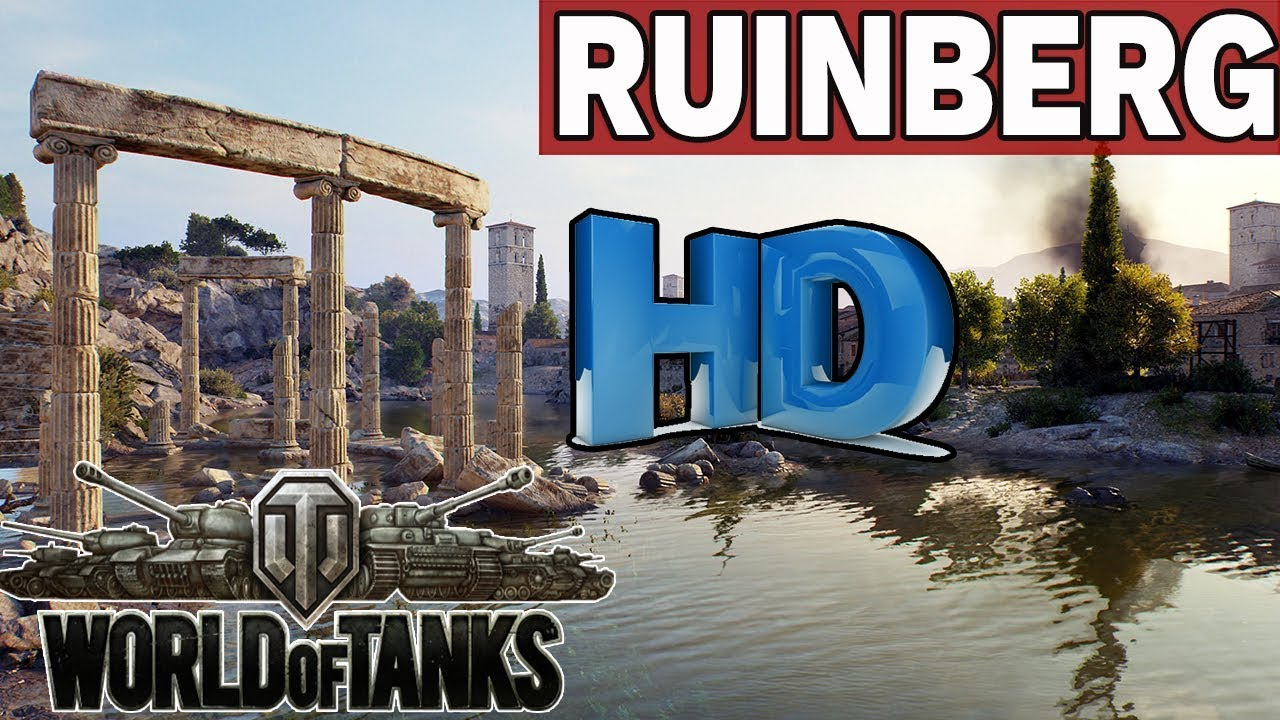RUINBERG – MAPY  HD – World of Tanks