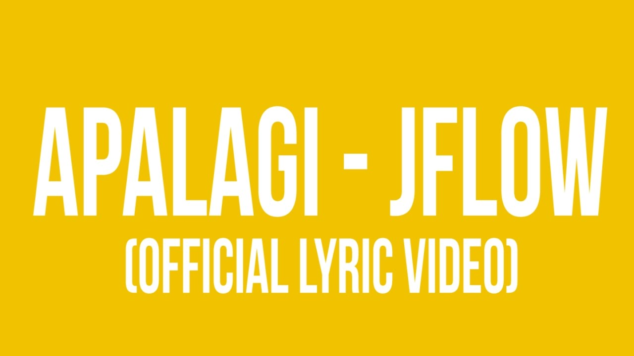 APALAGI (Official Lyric Video)