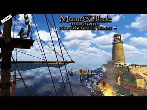 Amphibious Port Assault! Mount and Blade Napoleonic Wars Gameplay