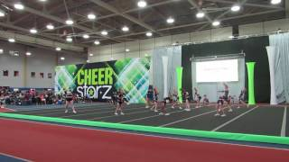 Cheerstarz Nationals Junior 1 Fury 4/29/17