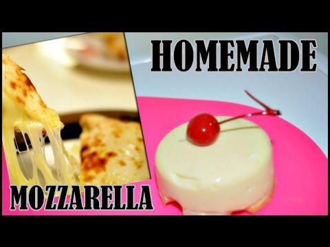 Video clip hay cara pembuatan keju mozarella home made for Mozzarella in carrozza parodi