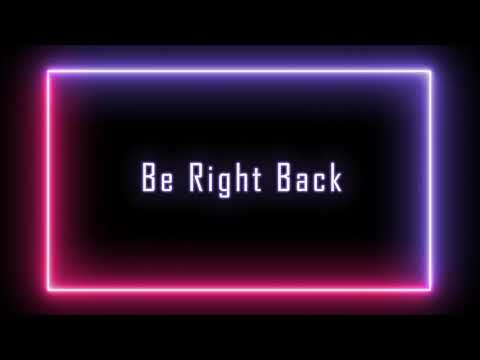FREE - Be Right Back Loop - YouTube