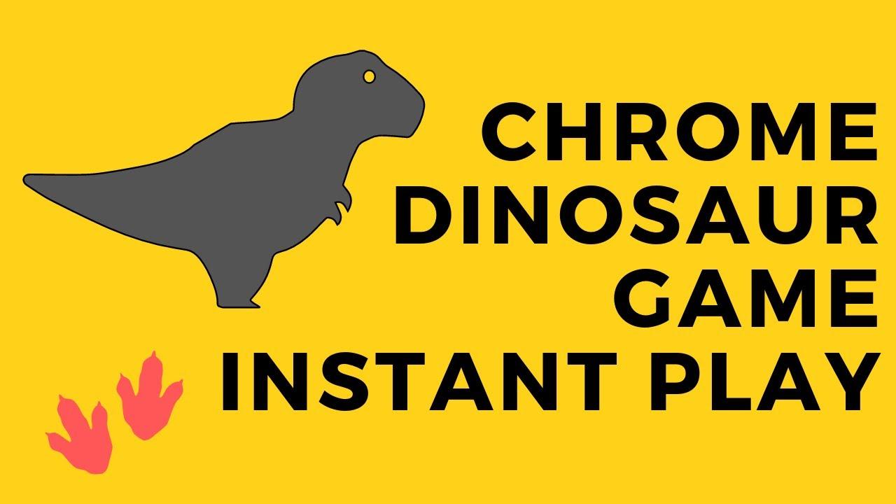 No Internet Dinosaur Game Play Now Unblocked | Gameswalls.org