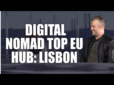 Top Digital Nomad Hub in Europe: Lisbon - Interview with NomadX CEO | Via News Interview 060