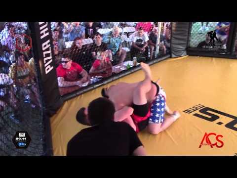 SFCL Wounded Warrior Benefit Fights Trever Alden Vs Todd Kerentoff